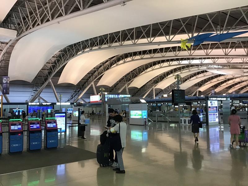 関西国際空港国際線フロア