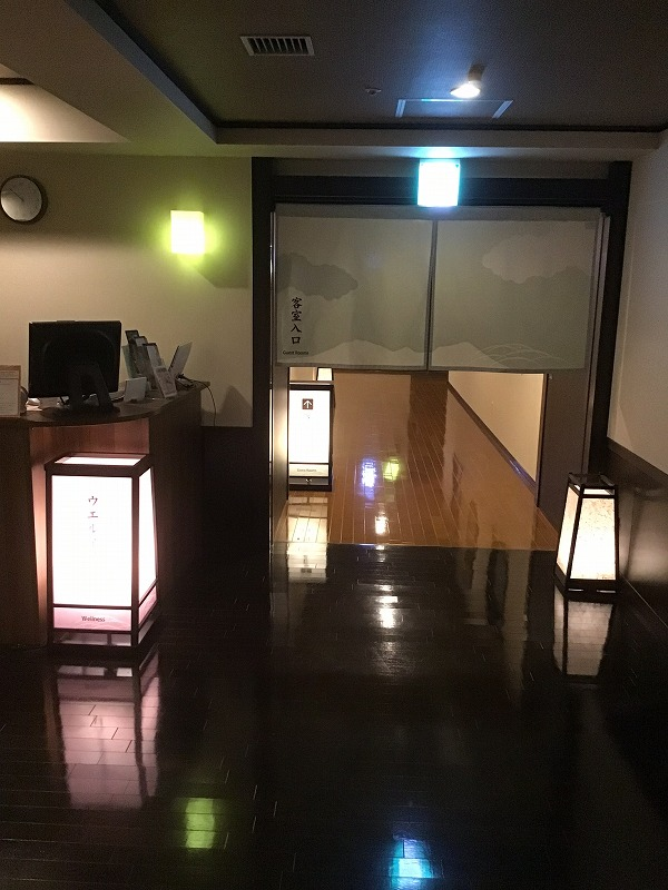 温泉客室入口