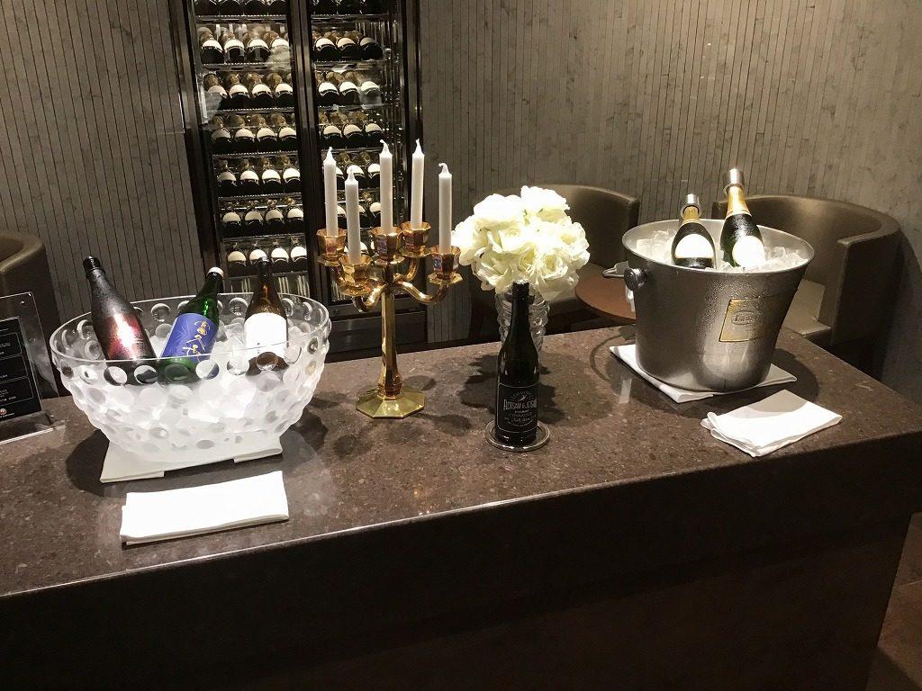 シャンパン(ローランペリエ)と日本酒