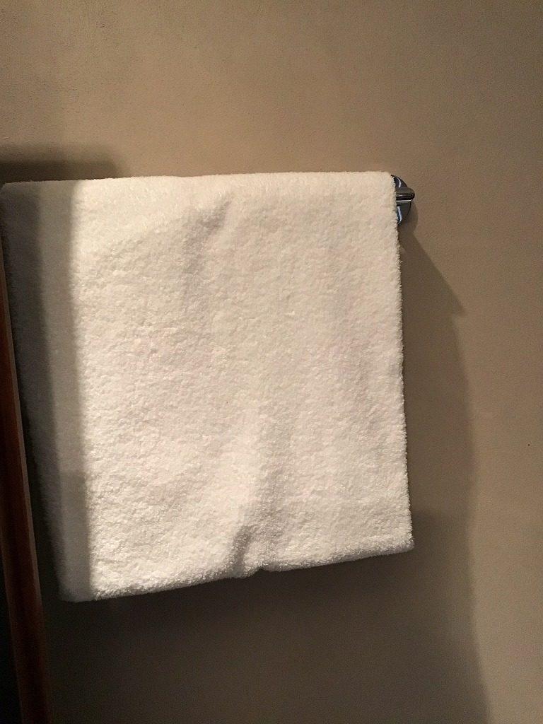 浴室のタオル
