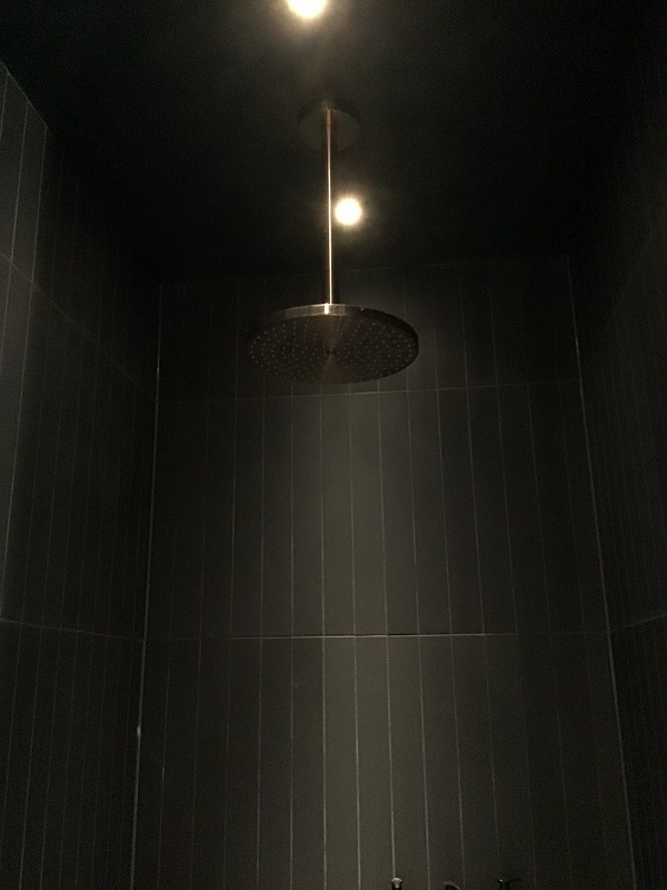 オーバーヘッドシャワー