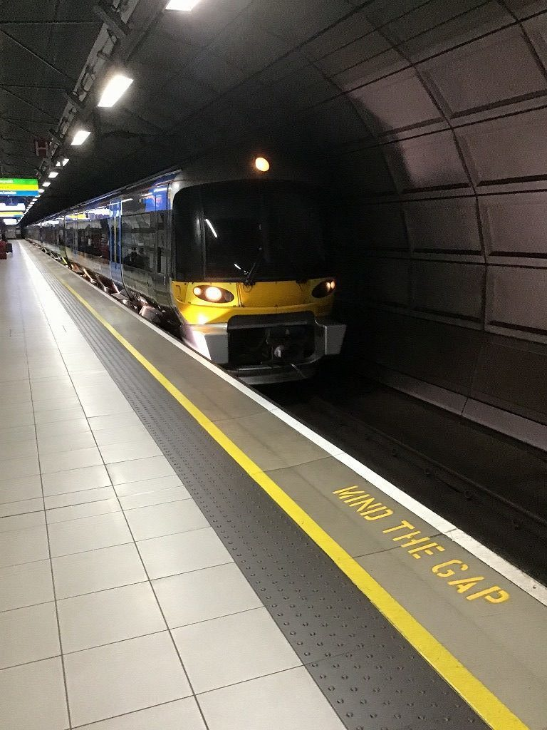 第4、第5ターミナル方面列車
