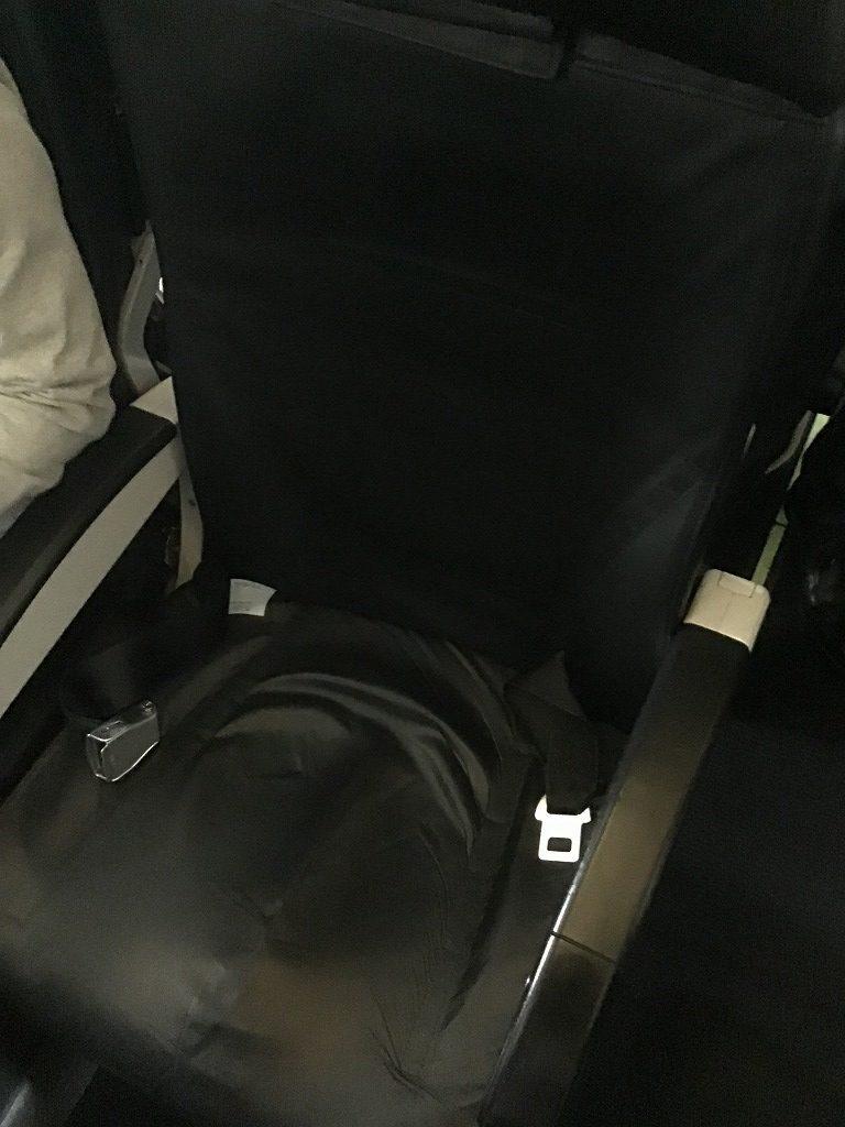 スターフライヤー革張りシート