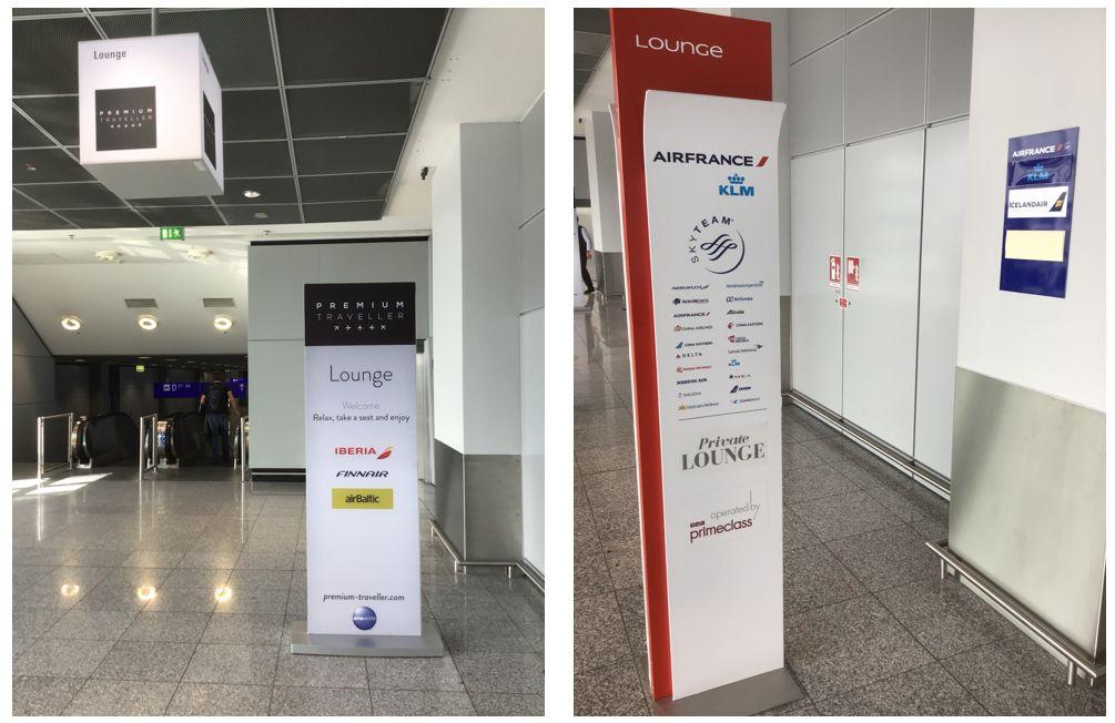 フランクフルト国際空港第2ターミナルシェンゲン圏内制限エリアラウンジ