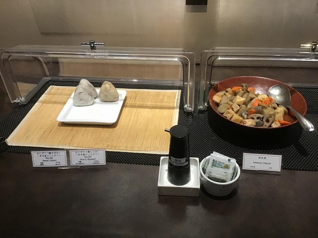 おむすび、煮物